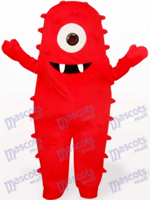 Rotes Monster Anime Maskottchen Kostüm