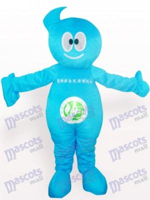 Reiniger Puppe Party Maskottchen Kostüm für Erwachsene