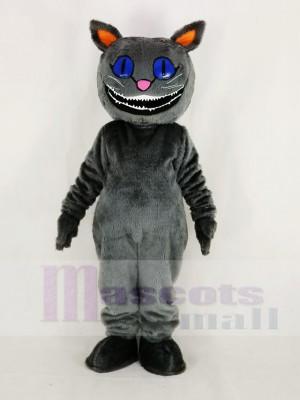 Realistisch Cheshire Katze von Alice ist Abenteuer im Wunderland Maskottchen Kostüm Karikatur