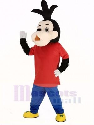 Goofy Hund Sohn Maskottchen Kostüm Karikatur