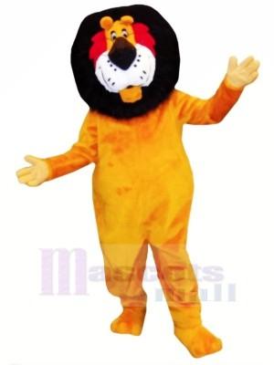 Lustig Orange Löwe Maskottchen Kostüme Erwachsene