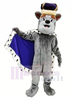 König Herzog Hund Maskottchen Kostüme Karikatur
