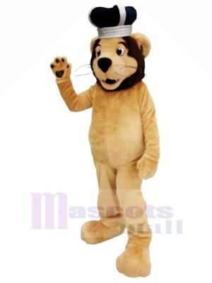 König Löwe Maskottchen Kostüme Karikatur