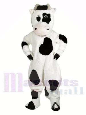 Lustig Schwarz und Weiß Kuh Maskottchen Kostüme Tier