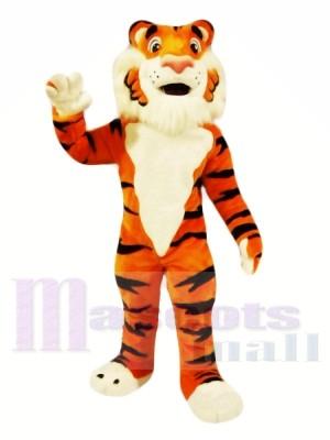 Freundlicher Tiger Maskottchen Kostüm Kostenloser Versand