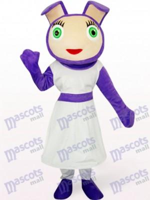 Süßes Lila Tier Maskottchen Kostüm