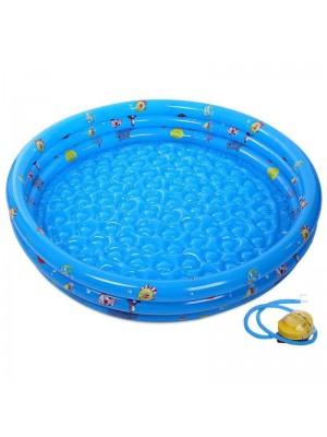 Draussen Aufblasbar Baby Schwimmen Schwimmbad mit Pumpe Zum Kinder