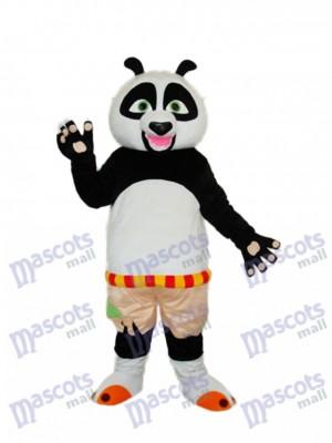 Kung Fu Panda Maskottchen Kostüm Erwachsene Tier