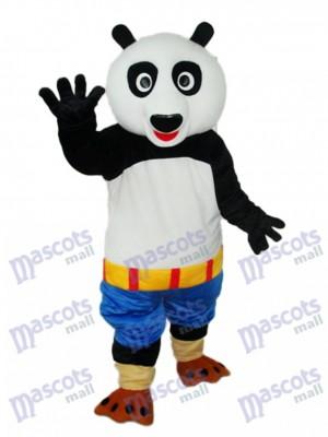 Kung Fu Panda Blue Shorts Maskottchen Erwachsene Kostüm Tier