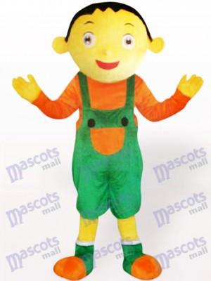 Hosenträger Hose Jungen erwachsenes Maskottchen Kostüm