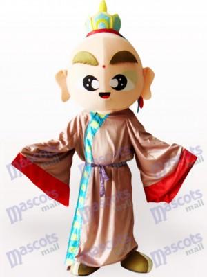 Tang Mönch Maskottchen Kostüm für Erwachsene
