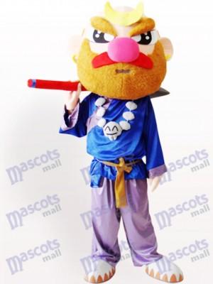 Sha Mönch Cartoon Maskottchen Kostüm für Erwachsene