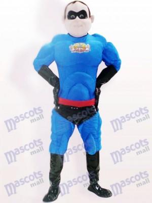 Super Mann Polyester Bengaline Cartoon Erwachsene Maskottchen Kostüm