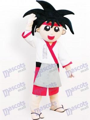 Japanischer Junge Cartoon Maskottchen Kostüm