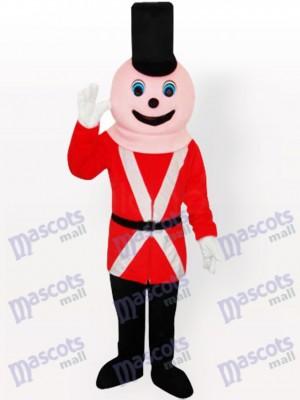 Königlicher Soldat Maskottchen Kostüm