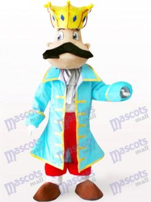 König Cartoon Maskottchen Kostüm