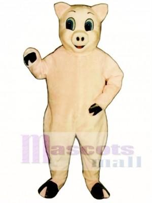 Lustig Schwein Weihnachts Maskottchen Kostüm