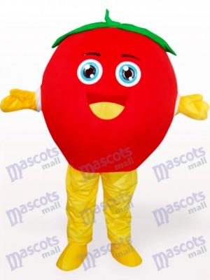 Glücklich Tomate Frucht Maskottchen Kostüm für Erwachsene