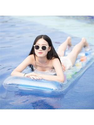 PVC Aufblasbar Matte Erwachsene Schwimmend Wasser Bett Draussen Schwimmbad Strand