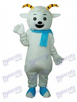 Angenehmes Ziegenmaskottchen Erwachsene Kostüm Tier