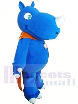 Hochwertige Blue Rhino Maskottchen Kostüme
