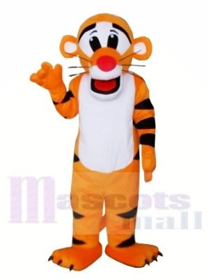 Neuer Profi Tiger Maskottchen Cartoon Kostüme