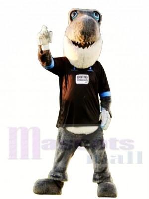 Sussex Kricket Grauer Hai Maskottchen Kostüm
