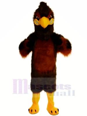Majestätisch Braun Falke Maskottchen Kostüme Karikatur