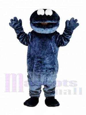Sesame Street Dark Blau Cookie Monster Elmo Maskottchen Kostüm Karikatur