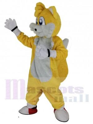 Miles Prower Tails Fuchs maskottchen kostüm