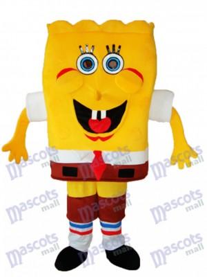 SpongeBob mit künstlichen Händen Maskottchen Adult Kostüm Cartoon Anime
