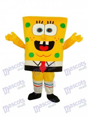 Lustige coole SpongeBob Schwammkopf Erwachsene Maskottchen Kostüm Cartoon Anime