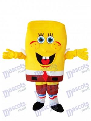 Big Nose SpongeBob Erwachsene Maskottchen Kostüm Cartoon Anime