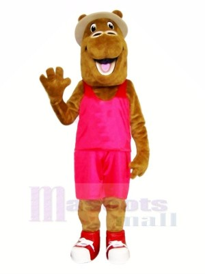 glücklich Kamel mit passen Maskottchen Kostüme