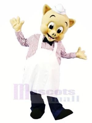 Hoch Qualität Koch Schwein Maskottchen Kostüme Karikatur