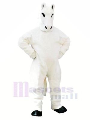 Weiß Pferd Maskottchen Kostüme Erwachsene