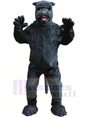 Glatt Schwarz Panther Maskottchen Kostüme Karikatur