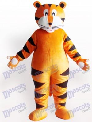 Tiger mit weißer Klaue Tier Maskottchen Kostüm