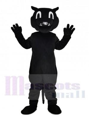 Komisch Schwarz Patrick Panther Maskottchen Kostüm Tier