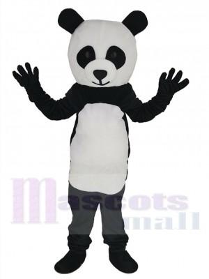 Panda maskottchen kostüm