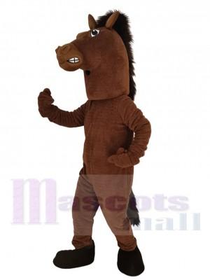 Heftig Hengst Pferd Maskottchen Kostüm Tier