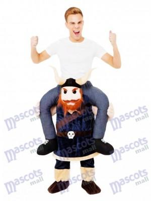 Huckepack Viking Carry Me Ritt auf Wikinger Maskottchen Kostüm Saxon Mittelalter chipmunks kostüm, huckepack kostüm selber machen