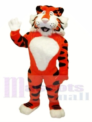 Freundliche leichte Tiger Maskottchen Kostüme
