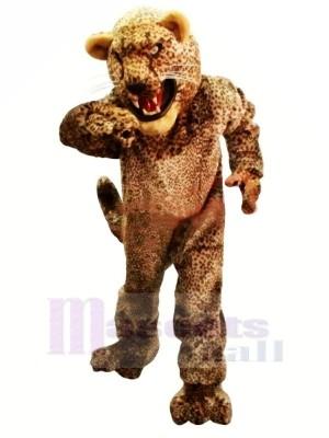 Heftig Leicht Leopard Maskottchen Kostüme