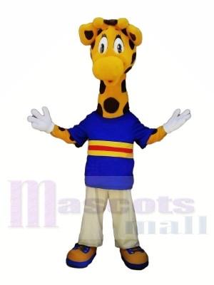 Süß Giraffe mit Groß Augen Maskottchen Kostüme Tier