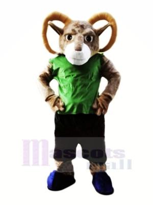 Leistung Sportlich RAM Maskottchen Kostüme Karikatur