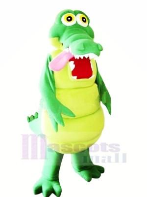 glücklich Alligator Maskottchen Kostüme Karikatur
