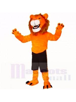 Orange Herrlich Löwe Maskottchen Kostüme Erwachsene