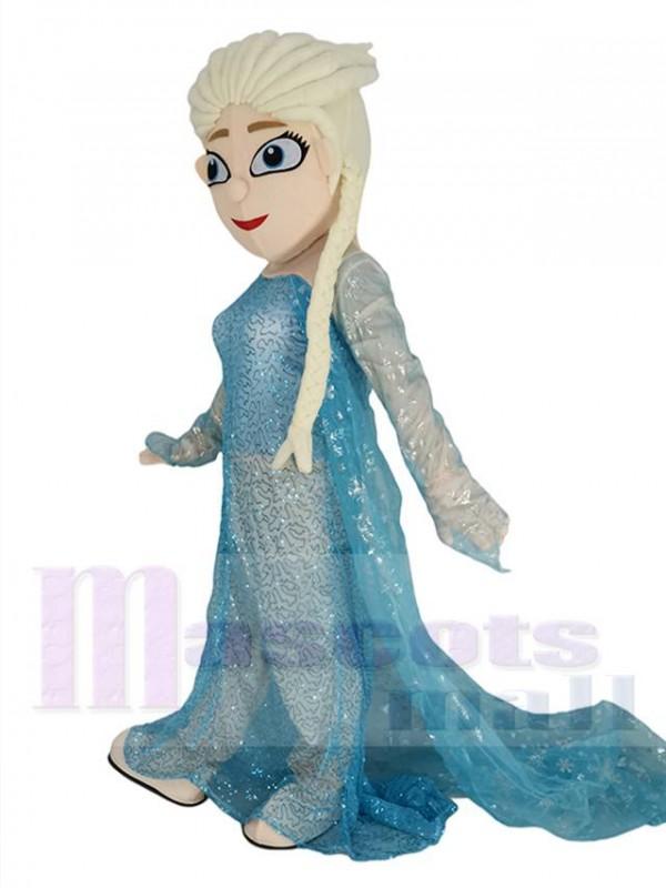 Frozen Prinzessin Elsa maskottchen kostüm