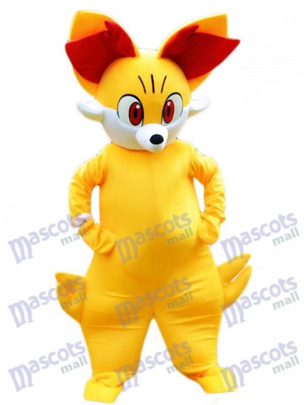 Gefeuertes Fennekin Pocket Monster Pokemon Pokémon Gehen Maskottchen Kostüm